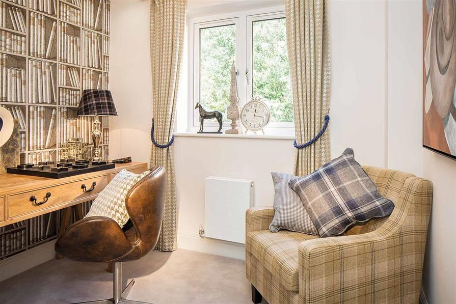 Image taken from the Show Home at Dovecote Place