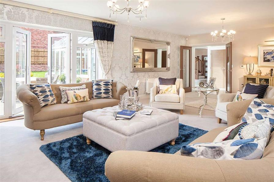 Image from the Show Home at Dovecote Place