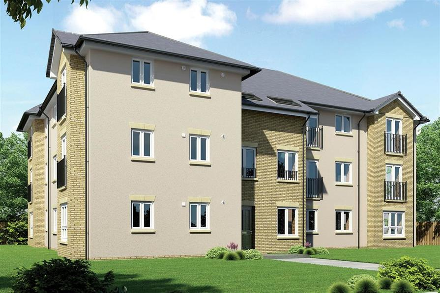 Artists Impression of Edmonstone Walk Apartments