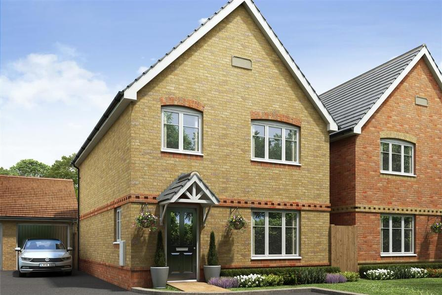 Artists impression of a typical Monkford home