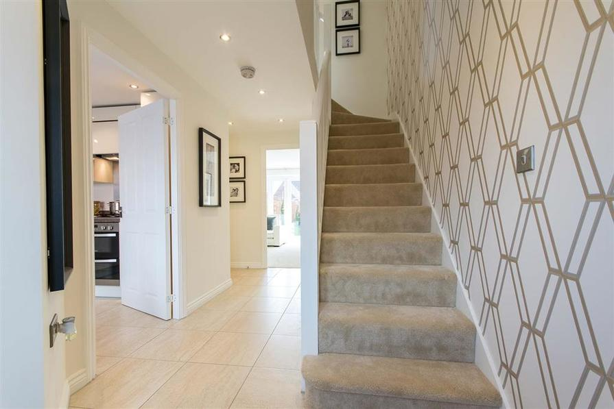 Crofton G Show Home interior at St James View