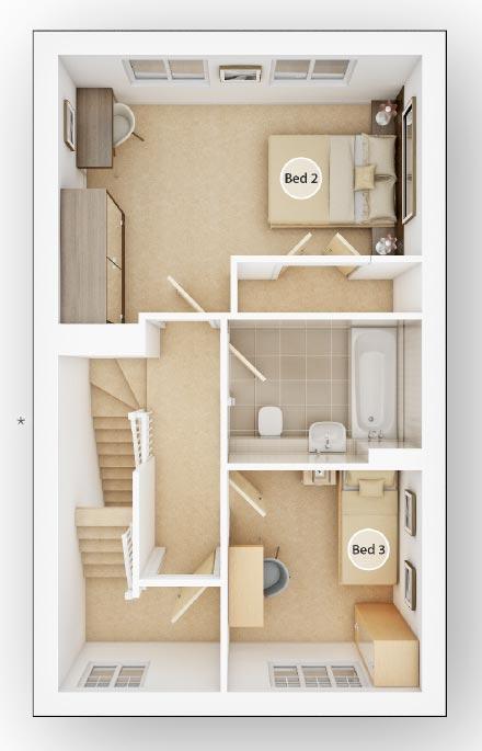 3 Bedroom Apartment Forge Wood in Crawley County – Forge Wood Site Plan