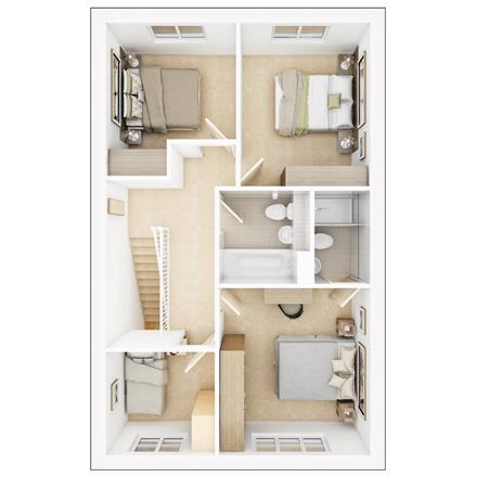 Monkford - First Floor Plan