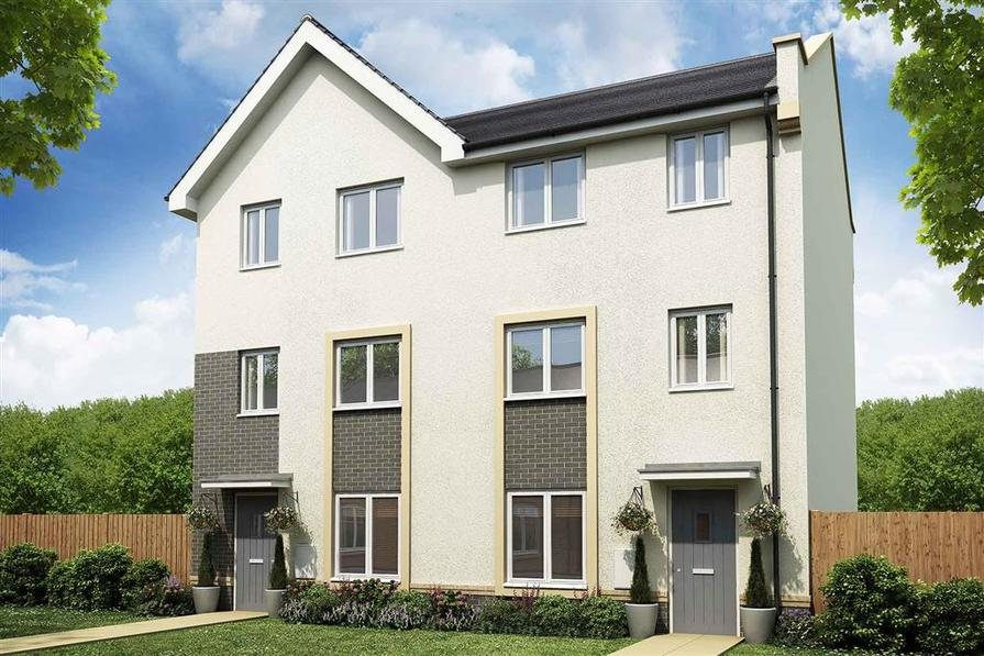 Artists impression of a typical Belbury home
