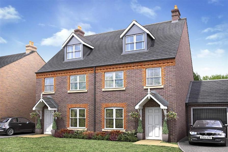 Taylor Wimpey-Exterior-Crofton-3 bedroom home