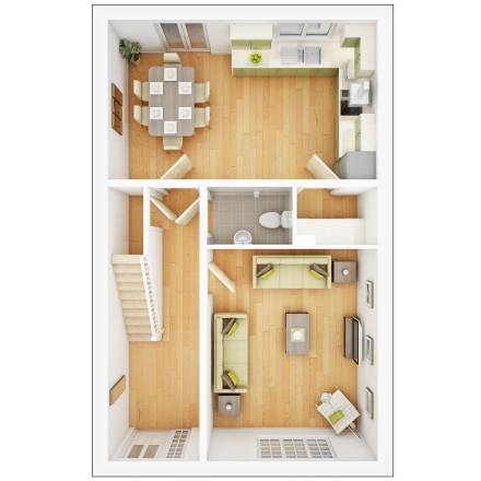 Midford first floor plan