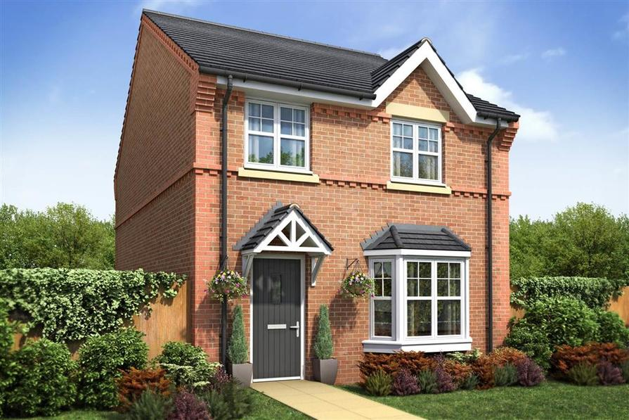 Artist Impression of The Lydford (detached) at Kings Grange