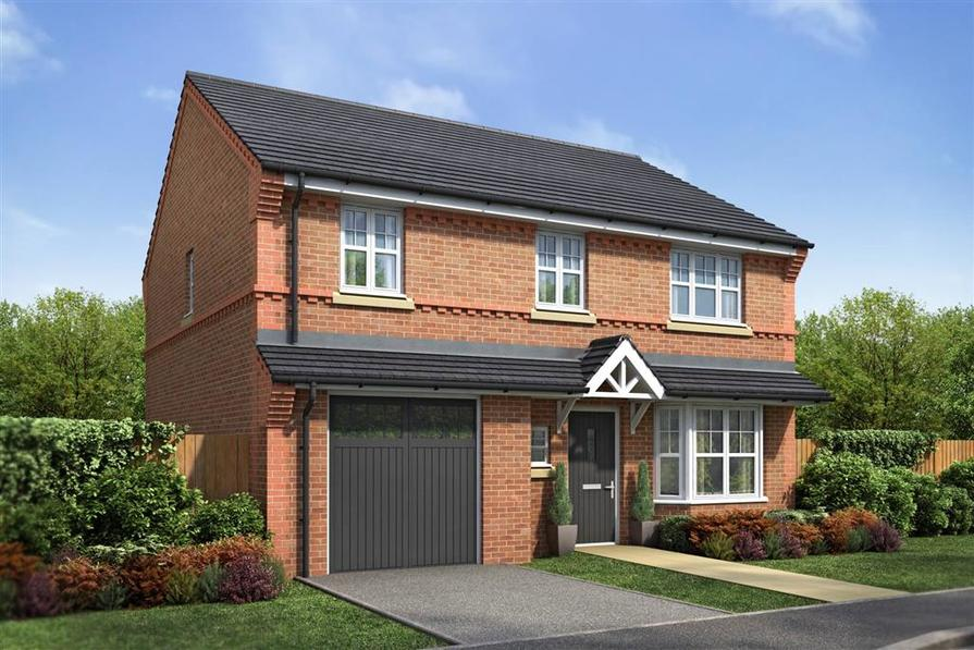 Artist Impression of the Downham at Kings Grange