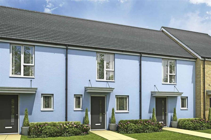 Artists impression of a typical Beckford home