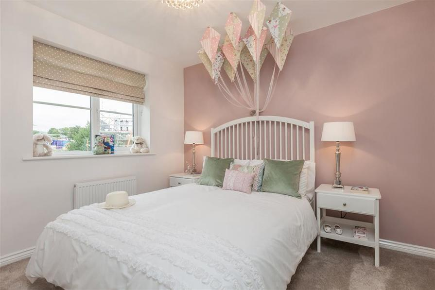 Actual Shelford show home at Laurel View.