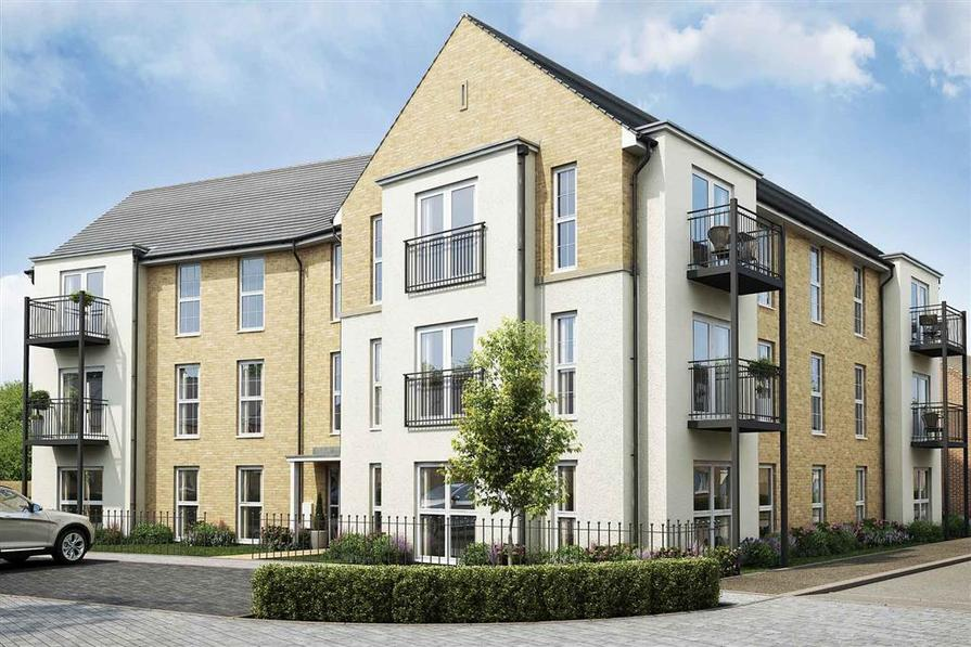 An artist's impression of the Elm Apartments