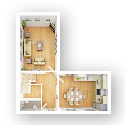 Taylor-Wimpey-Tildale-3-bedroom-house-ground-floor-3D-floorplan