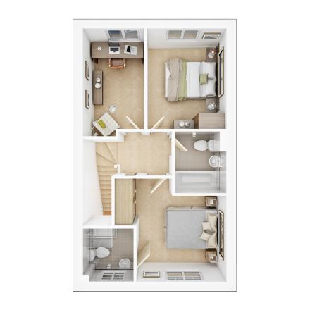 Taylor-Wimpey-Gosford-2-bed-3D-FF-Floorplan