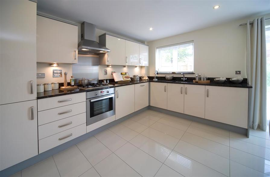 A Typical Taylor Wimpey Showhouse Kitchen