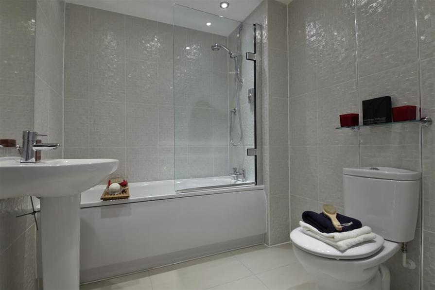 A Typical Taylor Wimpey Showhouse Bathroom
