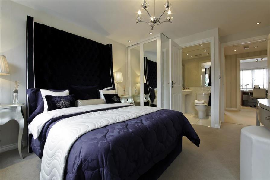 A Typical Taylor Wimpey Showhouse Bedroom