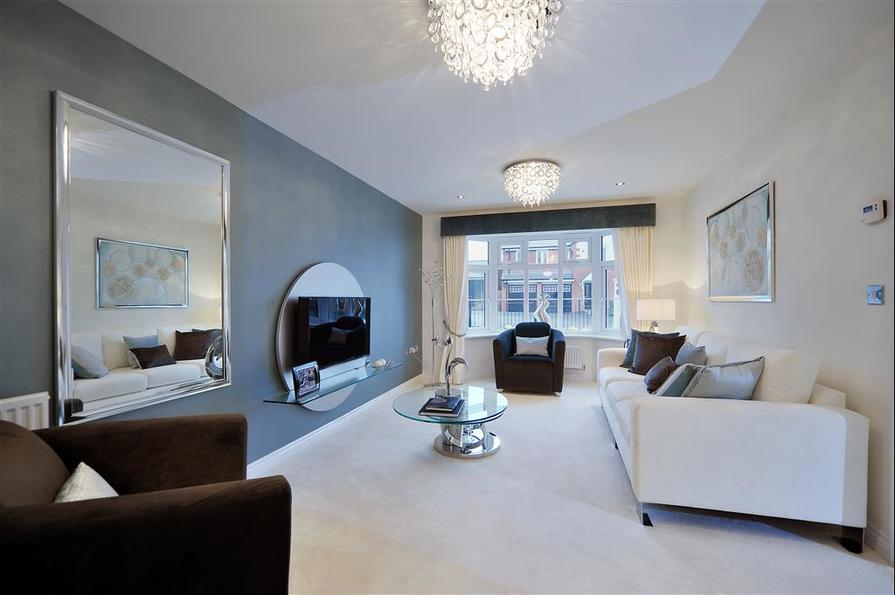 Image shows Downham show home, West Park