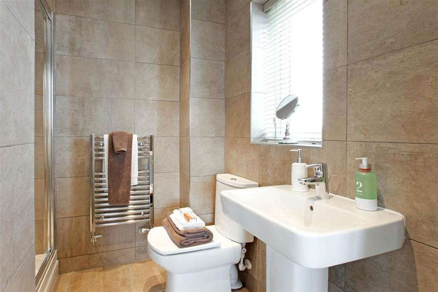 Actual image from the Eynsham Showhome at Pennington Wharf