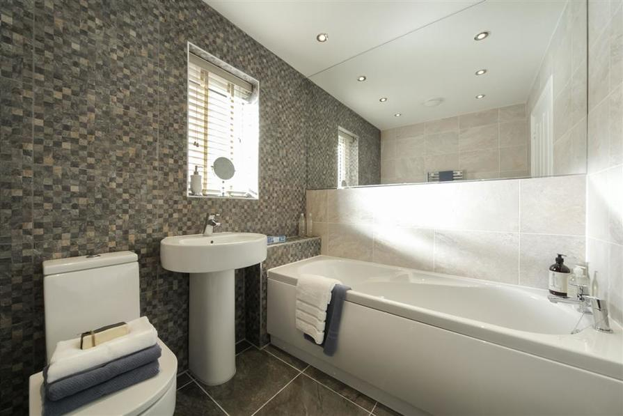 Actual Image from the Tarvin Showhome at Ribble Meadows