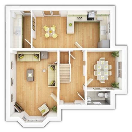 The Chelford Ground Floor Plan