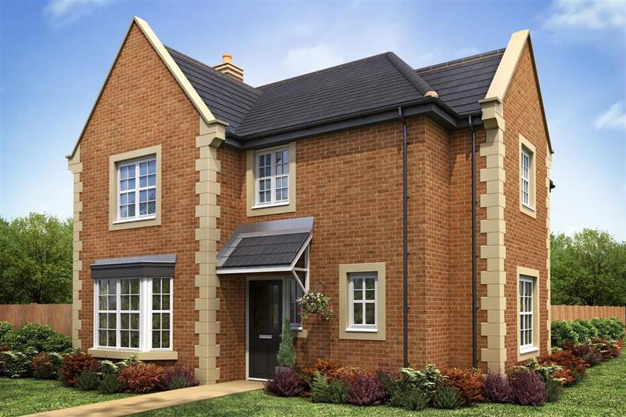 Artist Impression of The Chelford (Brick) at Ribble Meadows