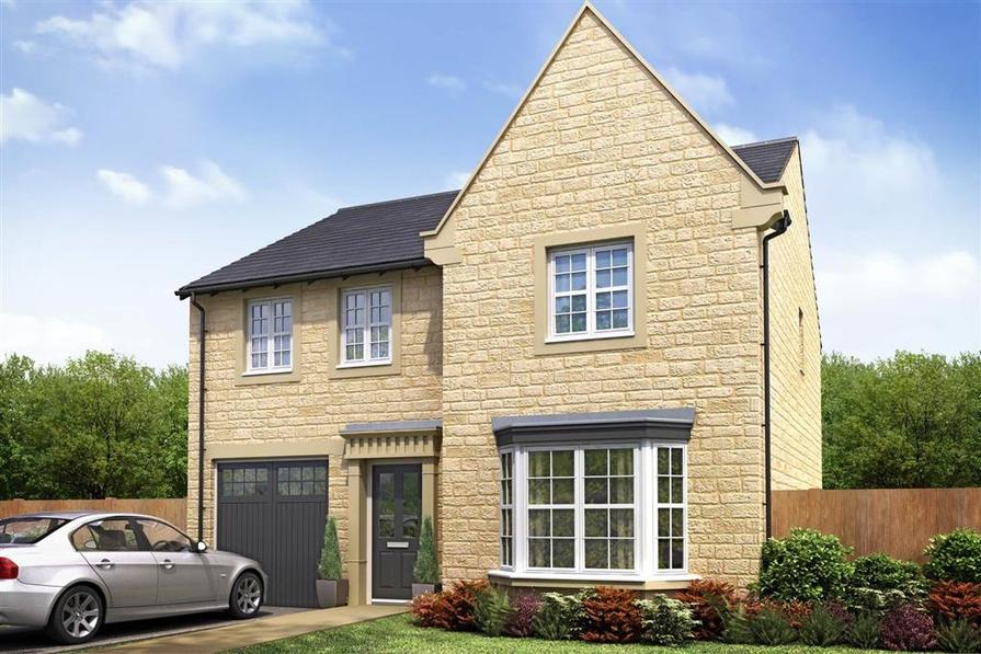 Artist Impression of The Haddenham at Ribble Meadows
