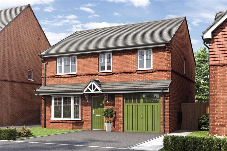 Artist impression of the Aldenham at Rothwells Farm Village Central V1