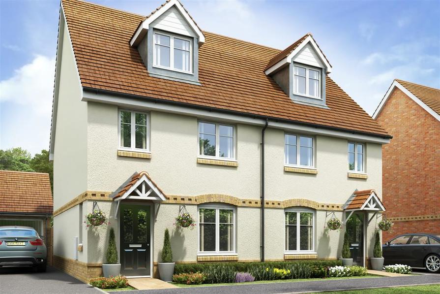 Artists impression of a typical Crofton G home