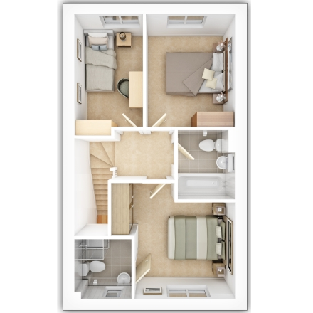 Savy First Floor Plan