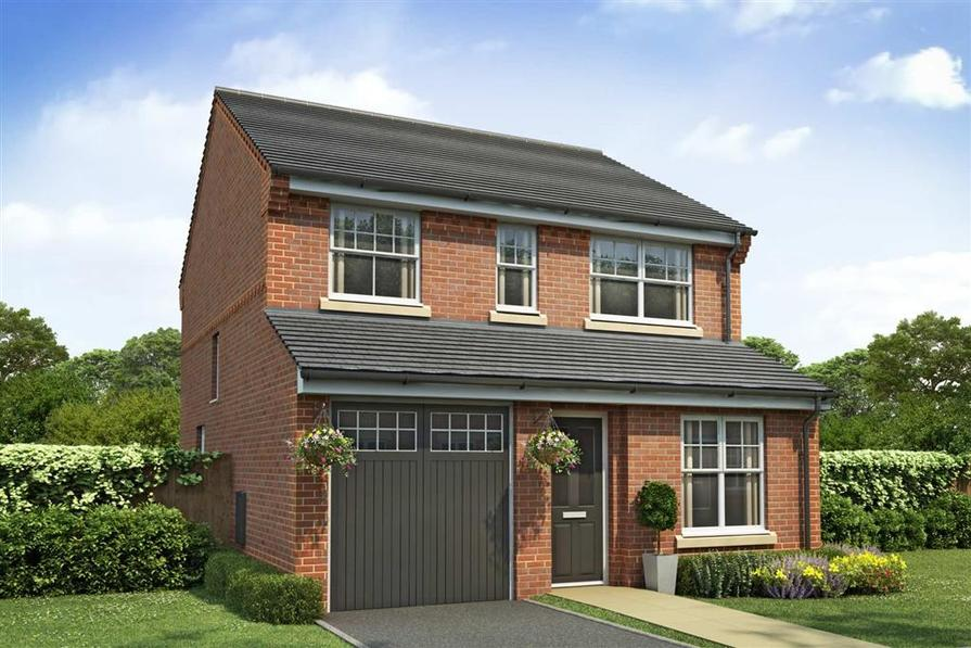 Artist Impression of The Aldenham at Spinning Green