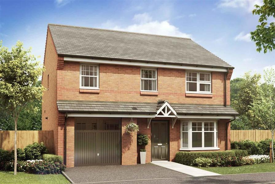 Artist impression of the Downham at Stamford Gate
