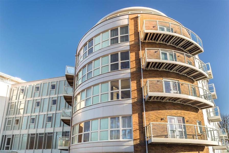 Balcony and flat external