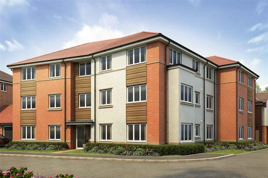 Artists impression of Park House apartments