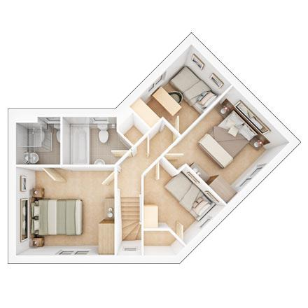 Sherston first floor plan