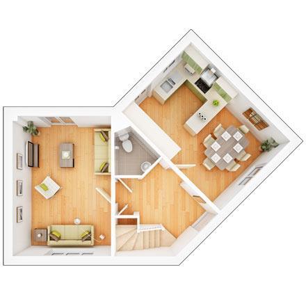 Sherston first floor plan