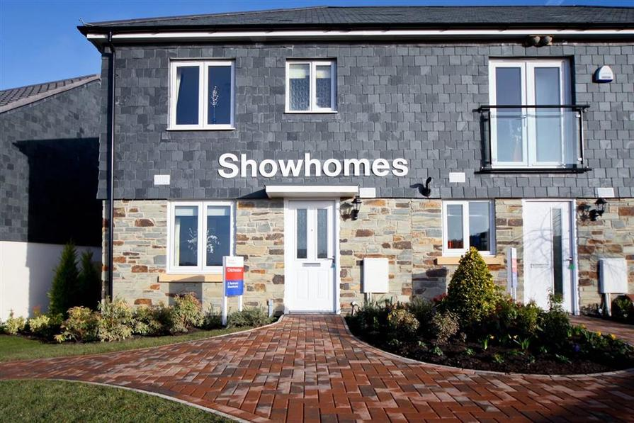 Actual Chichester Show home at Trevenson Meadows