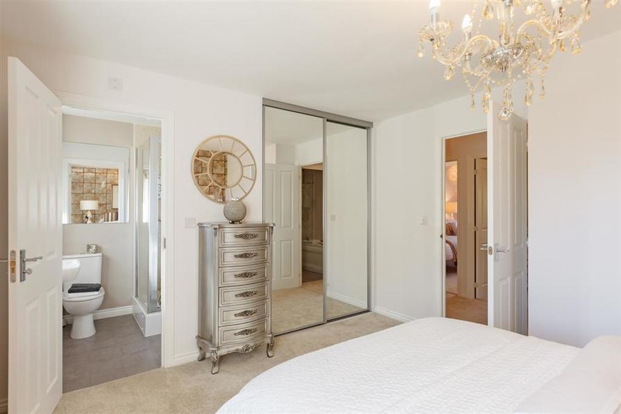 Walmley Croft Halton main bedroom with ensuite