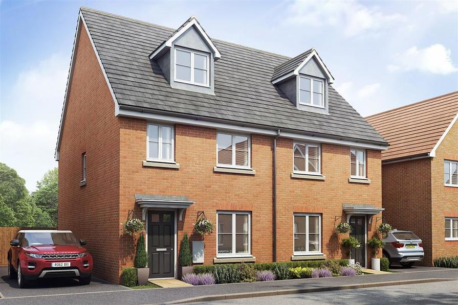 Example of a typical Taylor Wimpey Lincoln home