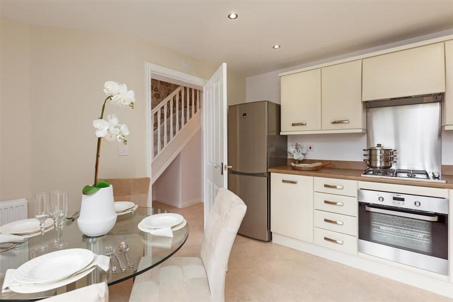 Walmley Croft Halton kitchen with kitchen diner
