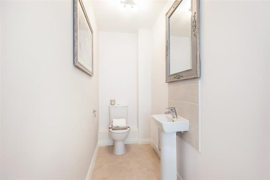 Walmley Croft Halton downstairs toilet