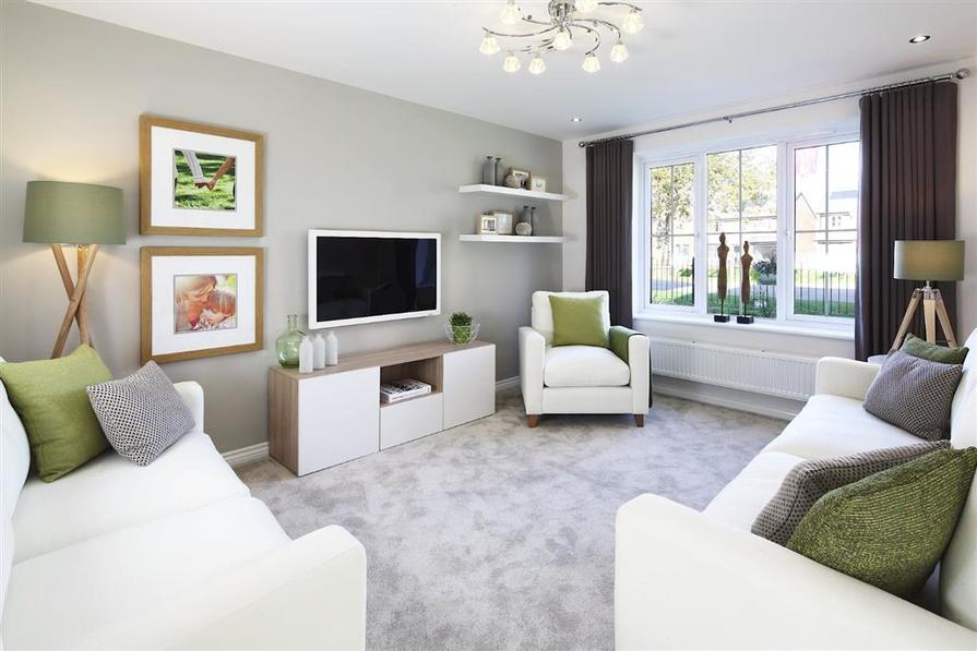 show homes living rooms wellington green in farndon is built by wimpey 17390