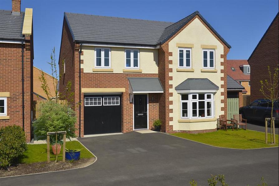 Image shows Haddenham house type, West Park