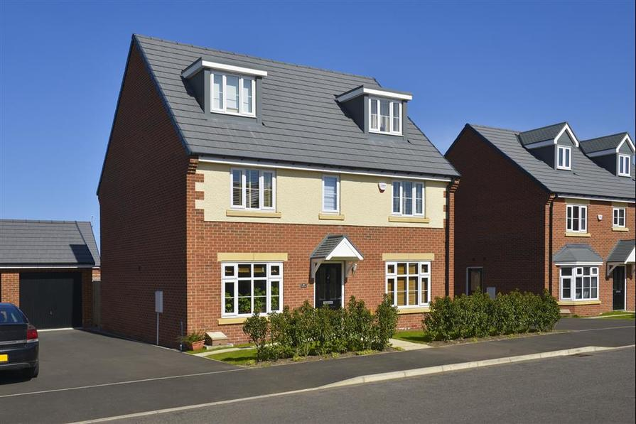 Image shows Wilton house type, West Park