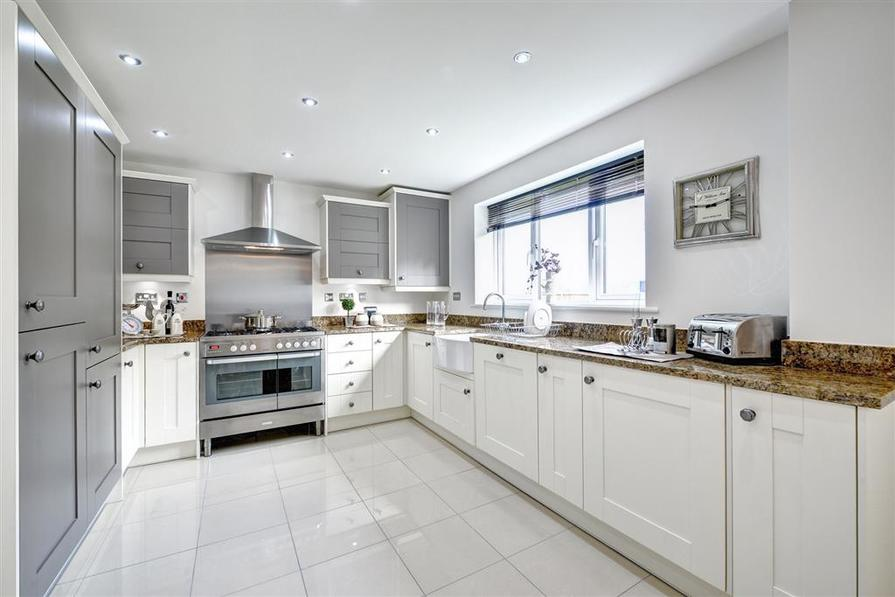 Actual Shelford show home at Westlands