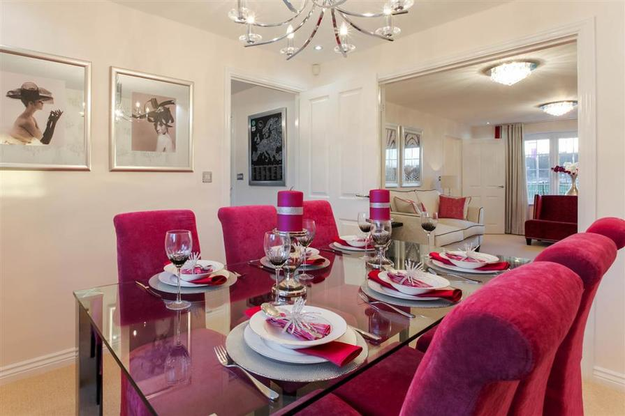 Actual Eynsham show home at Westalnds