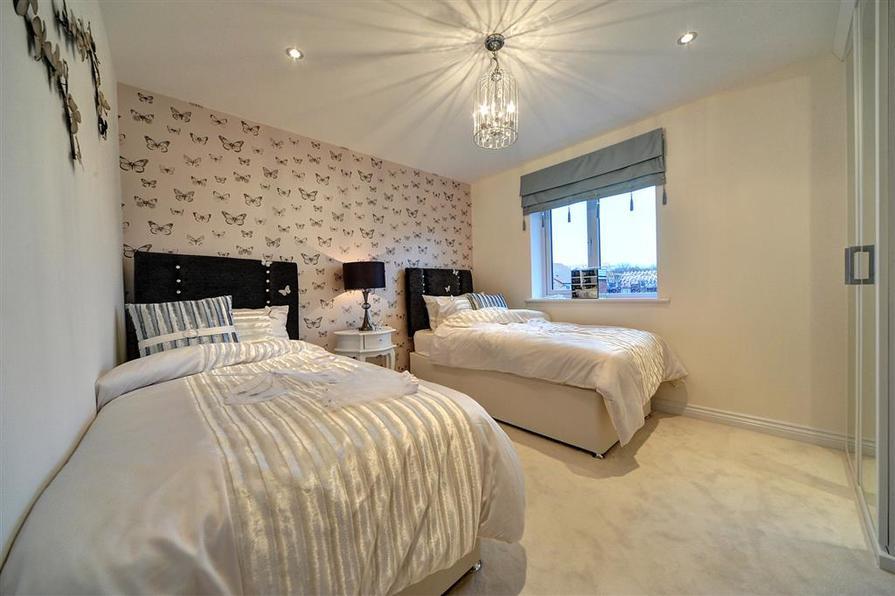 Image shows Downham show home, West Park, West Monkseaton.