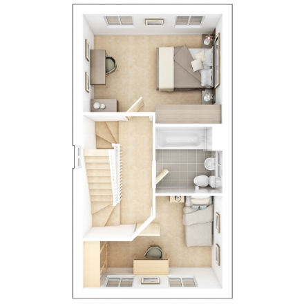 Harvington second floor plan
