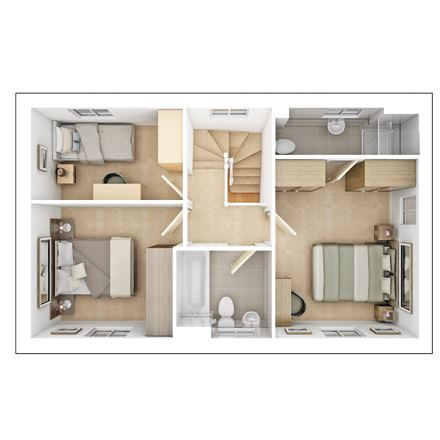 Kirkstone First Floor Plan