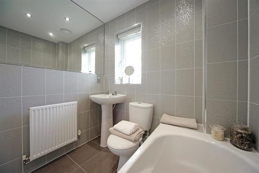 Actual image of the Dadford Showhome at Winnington Village