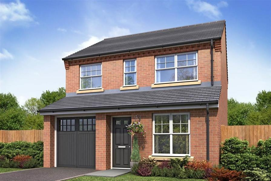 Artist Impression of the Aldenham (Suburban Links) at Winnington Village
